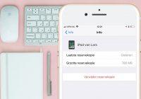 Opslagruimte besparen door oude iPhone back-ups te wissen: zo doe je dat