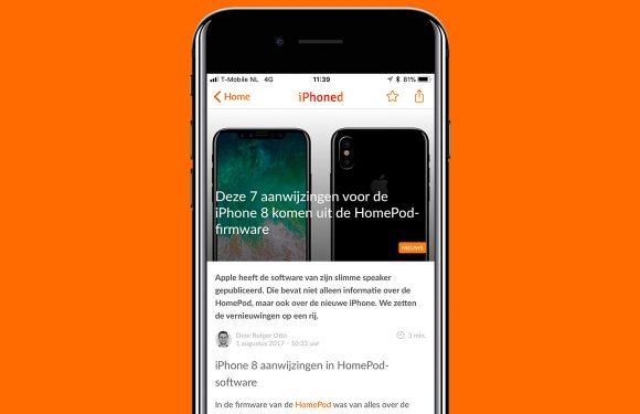 Nieuwsoverzicht week 31: iPhone 8 gelekt en nieuwe iPhone SE
