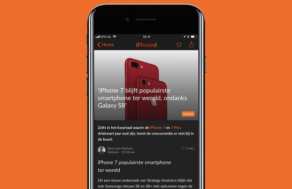 Nieuwsoverzicht week 33: iPhone 7 populair en Apples tv-dienst