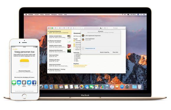 Tip: Samenwerken in de Notities-app op iPhone, iPad en Mac