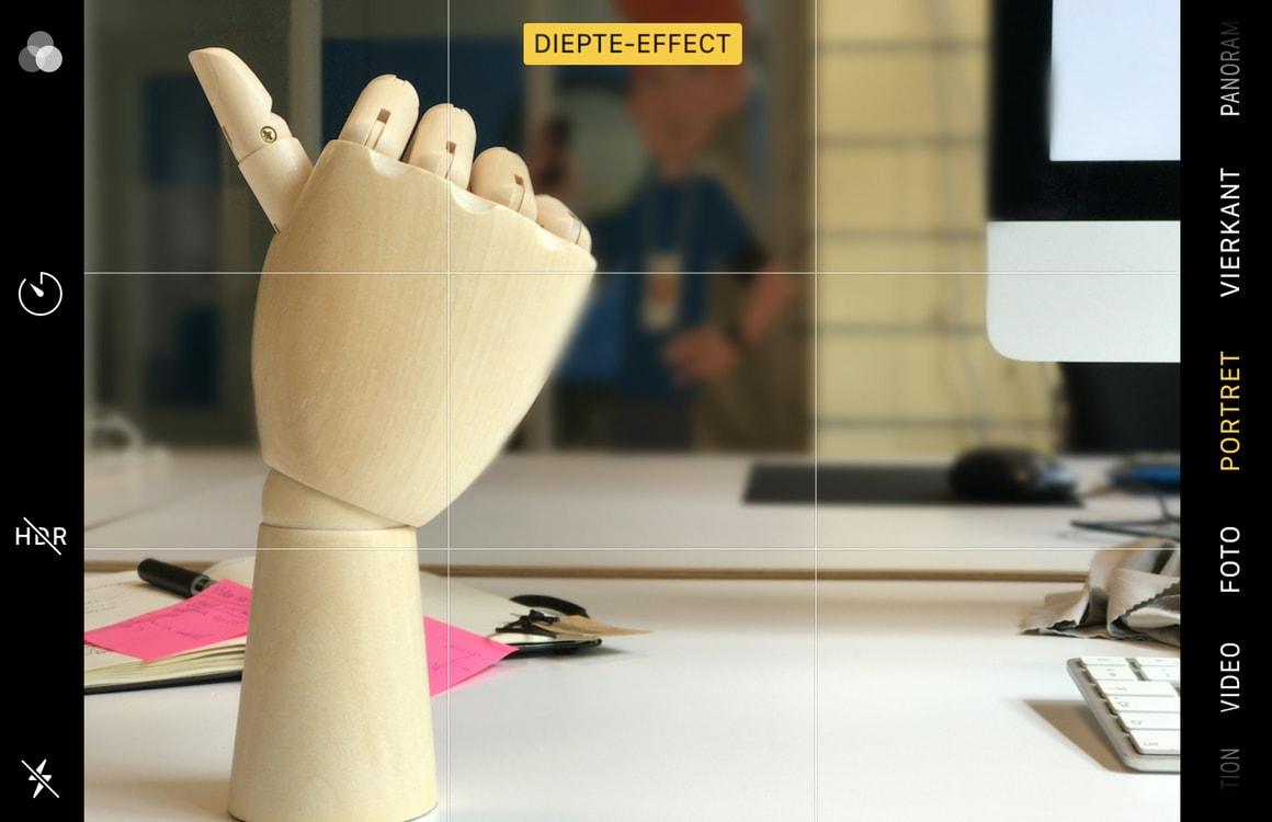 Tip: Zo verwijder je het diepte-effect van een iPhone-Portretfoto