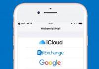 iOS 11-bug blokkeert Microsoft mail-accounts, zo los je het (tijdelijk) op