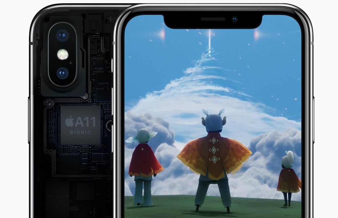 iPhone X officieel