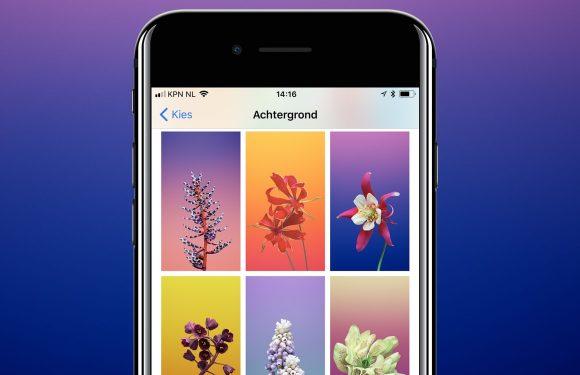 Downloaden: 16 nieuwe iOS 11 wallpapers voor je iPhone en iPad