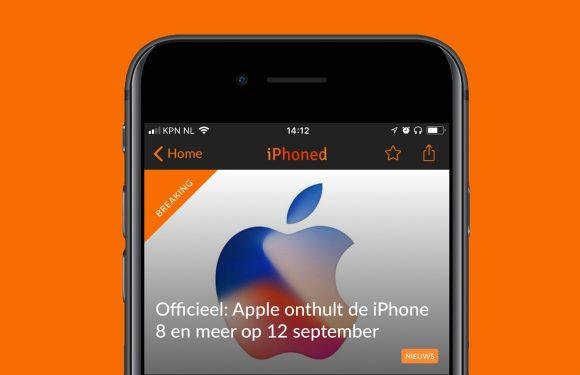 Nieuwsoverzicht week 35: iPhone 8-event officieel en meer