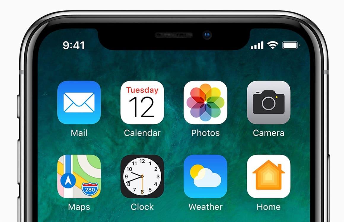 Zo werkt het nieuwe home- en lockscreen van de iPhone X