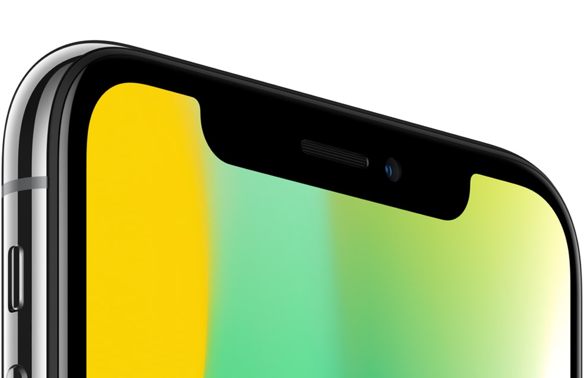 Met deze app 'verberg' je de notch van de iPhone X