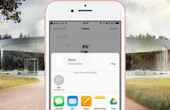 Tip: zo werk je samen aan één document met iCloud Drive