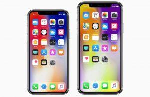 iPhone X Plus goud