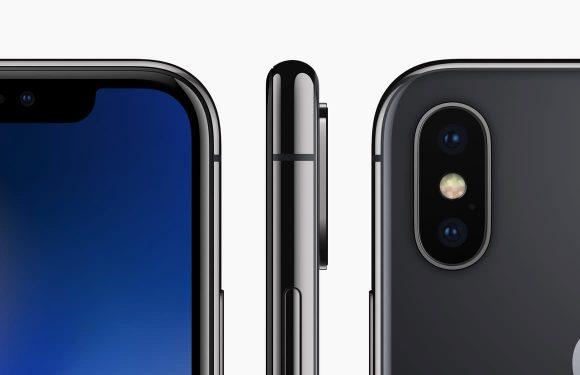 'iPhone X Plus stopt groter scherm en cameralens in formaat van de 8 Plus'