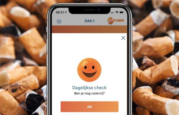 Stoptober 2019: Stop met roken met de hulp van de Stoptober-app