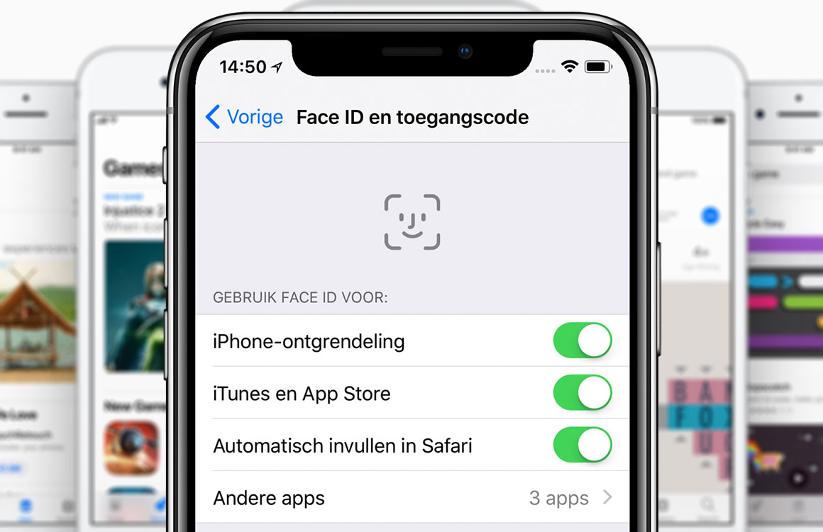 Apps kopen in de App Store met Face ID: zo doe je dat in 3 stappen