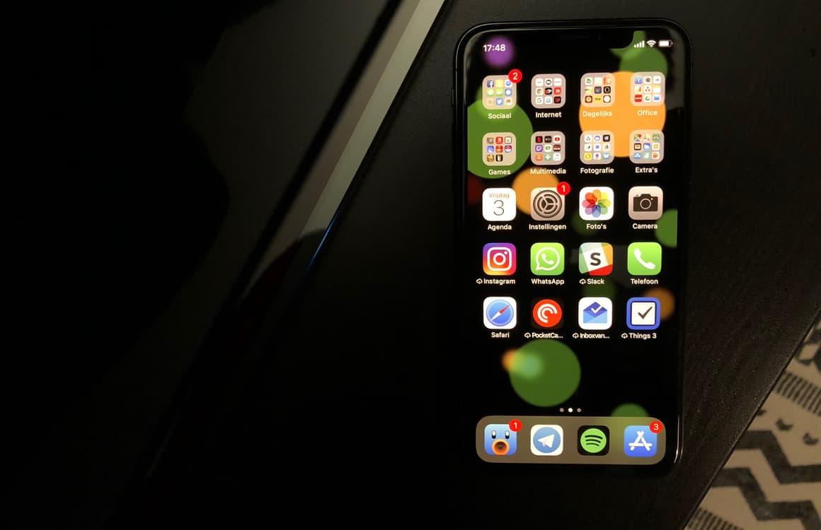 iPhone X telefoonbug