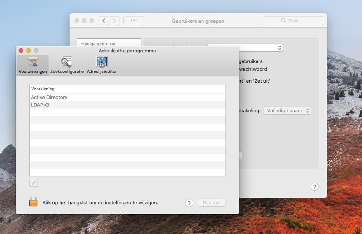 macOS High Sierra beveiligingslek