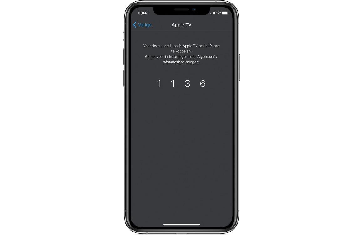 apple tv remote app koppelen