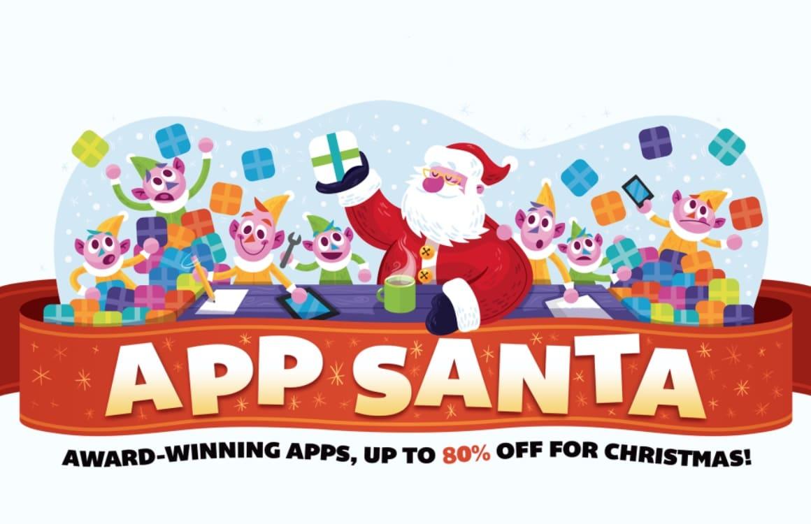 AppSanta 2017 maakt tal van populaire iOS-apps tot 80 procent goedkoper