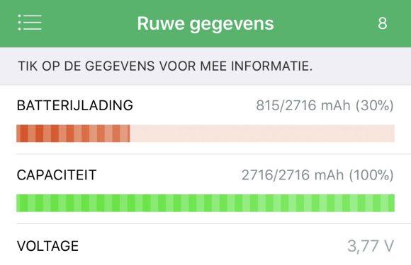 iphone accu gezondheid
