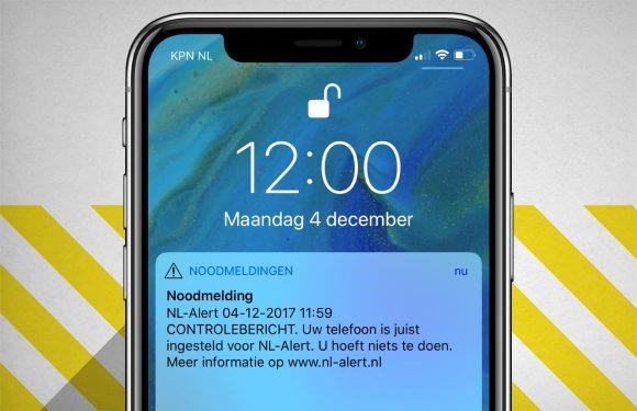 iPhone-gebruikers ontvangen automatisch NL Alert sinds iOS 12.2
