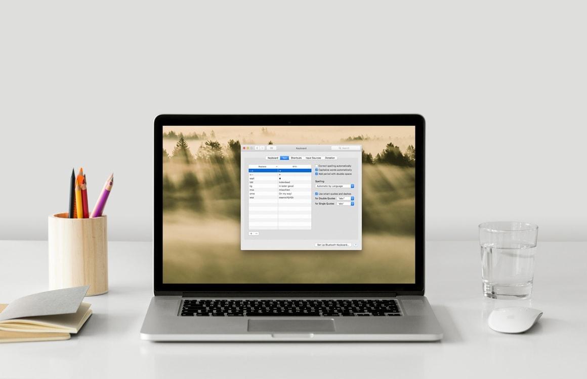 Tip: Zo stel je afkortingen in op je Mac en iPhone met tekstvervanging