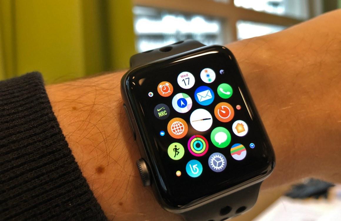 Tip: Zo hou je het homescreen van je Apple Watch geordend