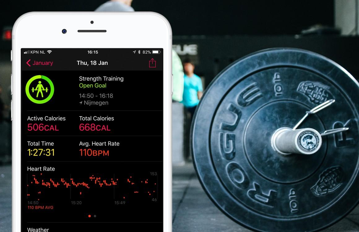 Krachtsport met je iPhone: de 3 beste apps