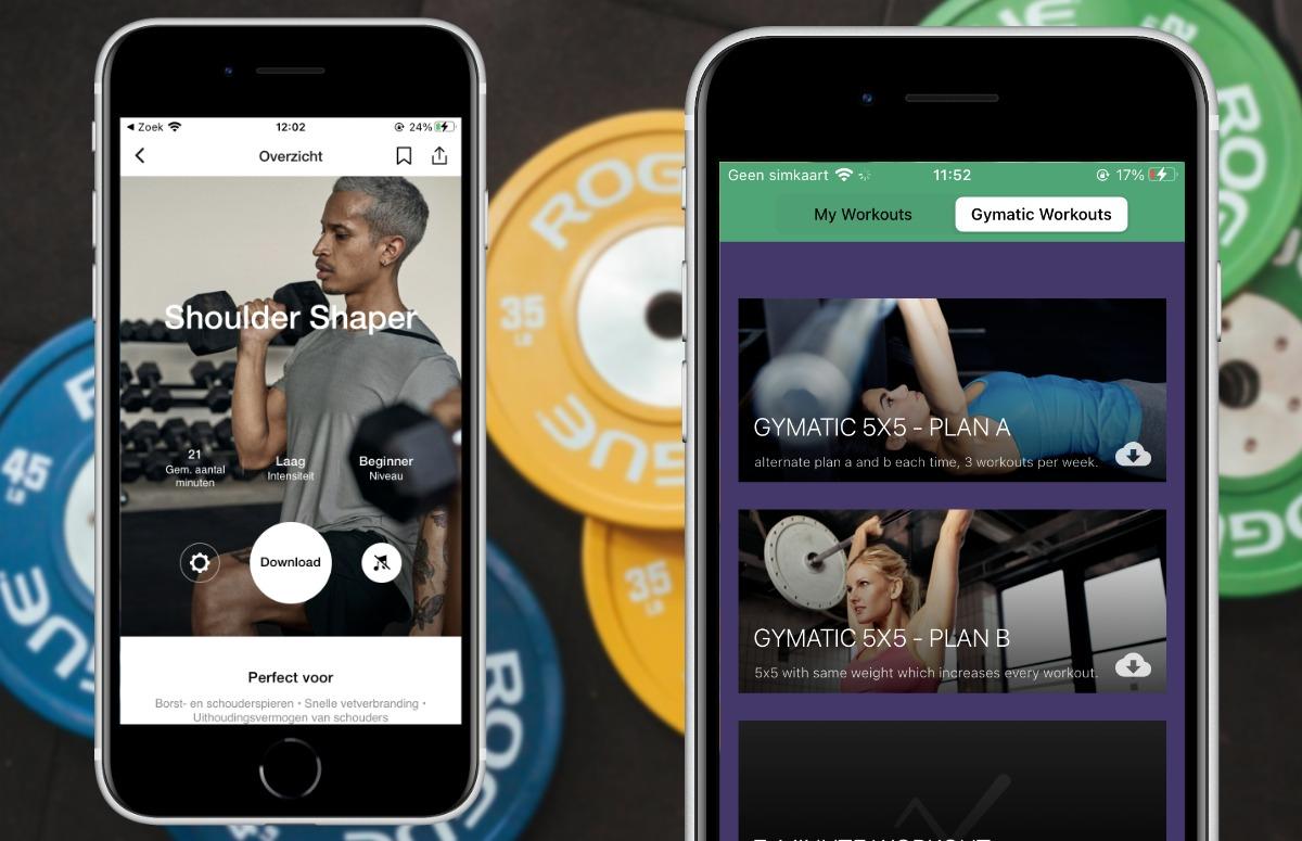 Krachtsport met je iPhone: de 5 beste apps