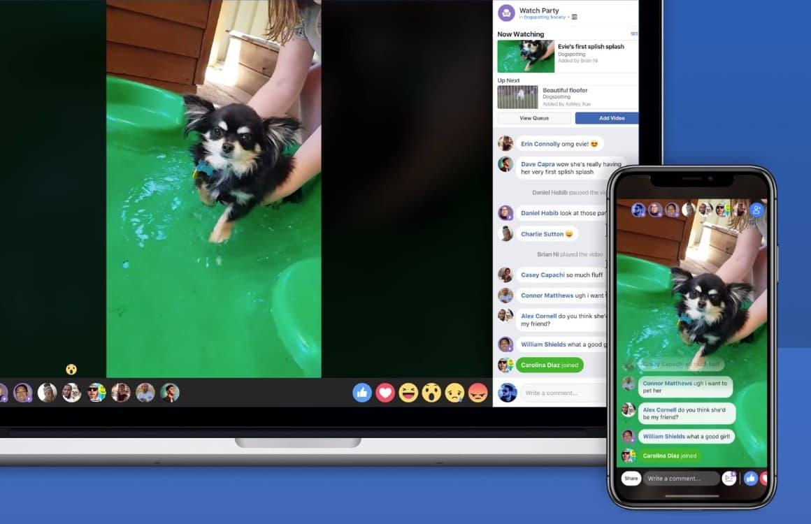 Facebook Watch Party: Zo kijk je samen met vrienden dezelfde video's