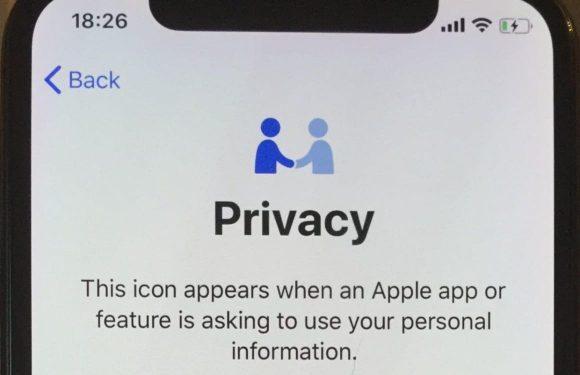 Hoe dit nieuwe Apple-icoontje jouw privacy beter gaat beschermen