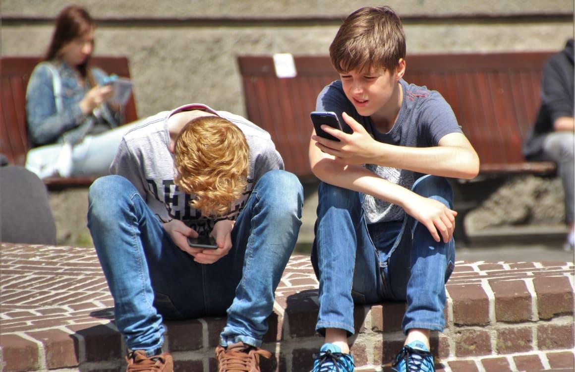 iPhone gebruik jongeren