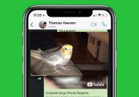 WhatsApp lanceert picture-in-picture videospeler, gaat spam actief weren