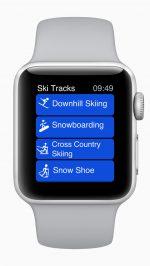 Apple Watch skiprestaties snowboardprestaties