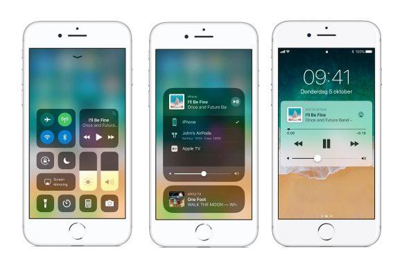 Zo bedien je AirPlay vanuit het iOS 11 Bedieningspaneel