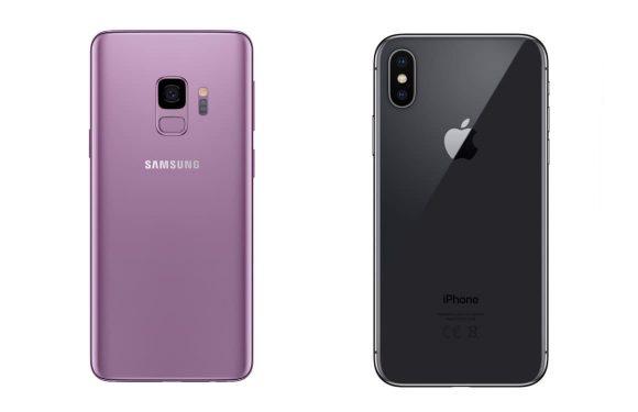 iPhone X vs Galaxy S9: specs, camera, design en meer vergeleken