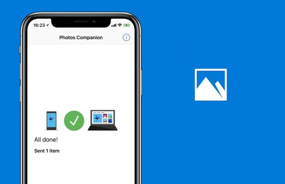 Photos Companion: gemakkelijk foto's delen tussen iPhone en Windows
