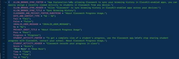 ClassKit onderwijsvernieuwing broncode ios 11.3 beta