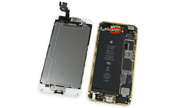 Refurbished iPhone waterschade interne vloeistofschade-indicator