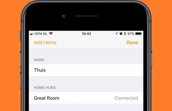 Tip: Zo stel je je Apple TV, HomePod of iPad in als HomeKit-hub