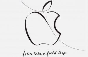 Apple Onderwijsvernieuwing uitnodiging 27 maart 2018
