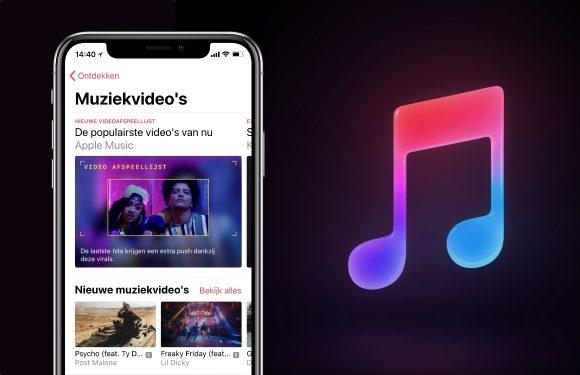 Apple Music introduceert muziekvideo's met nieuwste update
