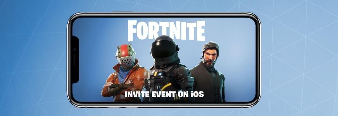 Fortnite Battle Royale iPhone