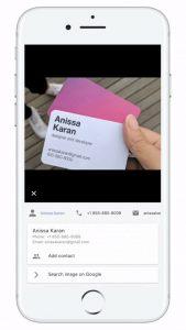 Google Lens Google Foto's