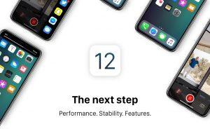 iOS 12 app-platform