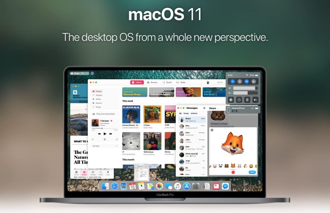 Concept: zo kan Apple iOS en macOS dit najaar met elkaar combineren