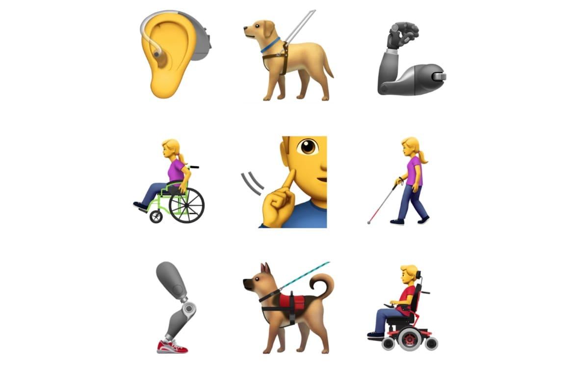Toegankelijkheid emoji