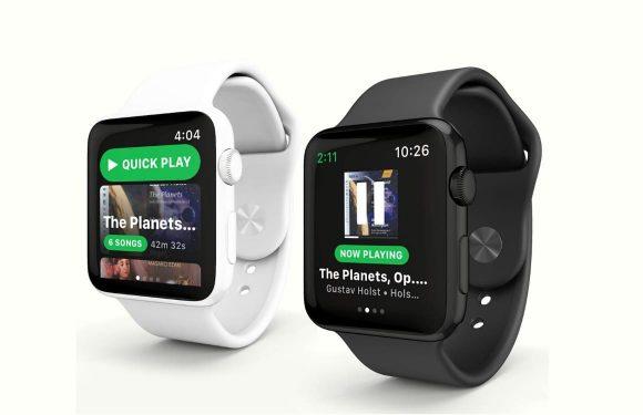 'WatchOS 5 introduceert StreamKit met Spotify-app voor Apple Watch'