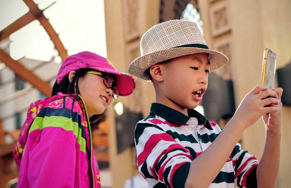 kinderen smartphonegebruik