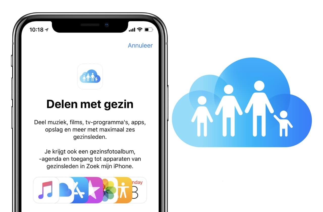 Apple Gezinsdeling: Zo deel je apps en abonnementen met gezinsleden