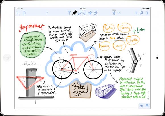 beste iOS notitie-apps Notability
