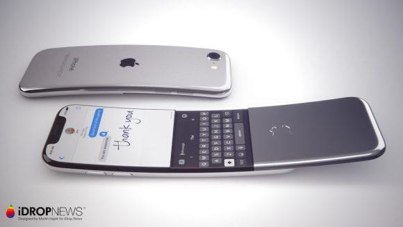 Gebogen iPhone-renders
