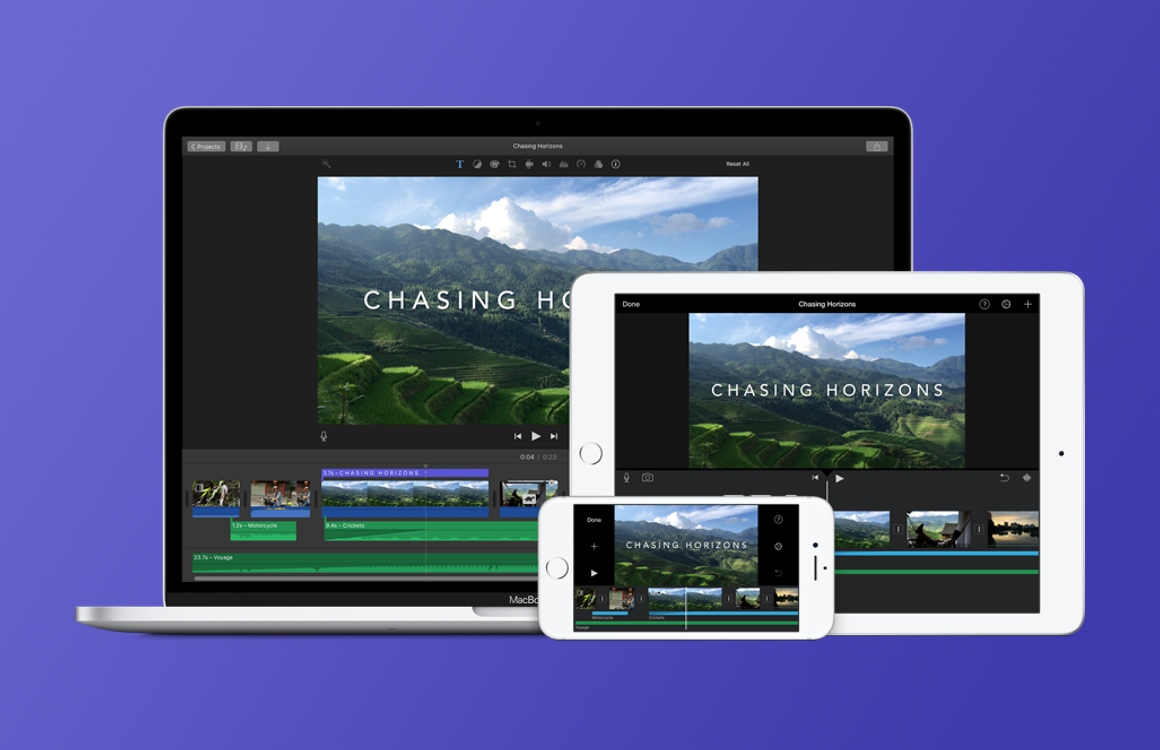 iMovie ondersteunt (eindelijk) het scherm van de iPhone X